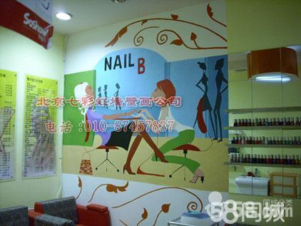 【图】壁纸手绘墙壁画墙画情感手绘墙-海淀装修装饰