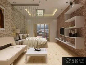 和平里小户型卧室装修效果图大全2015图片