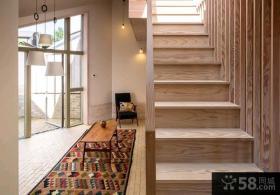 日式家居复式家庭室内装修效果图大全2015