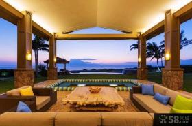 三亚海景房阳台装修设计