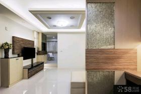 简约日式风格三室两厅装修效果图大全