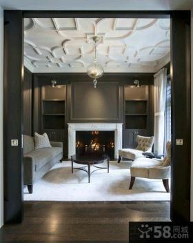 北欧风格豪华复式客厅装修效果图大全