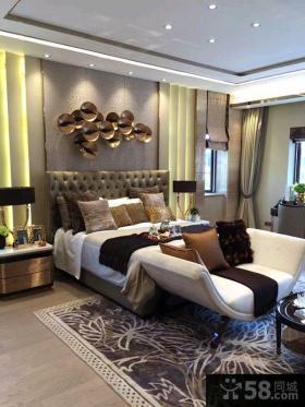现代风格装修设计120平米三室两厅图片大全