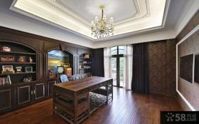 欧式古典风豪华别墅装修效果图片