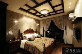古典风格别墅客厅装修效果图大全2015