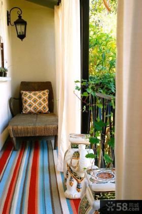 家庭生活阳台装修效果图