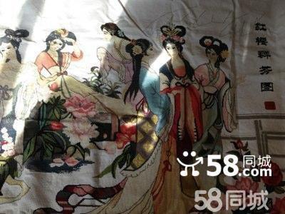 【图】纯手工十二金钗十字绣价格可议