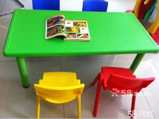 幼儿园桌椅,儿童长方形桌椅.