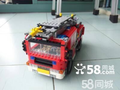 【图】乐高拼装消防车