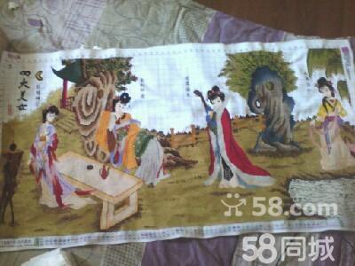 【图】四大美女手工十字绣