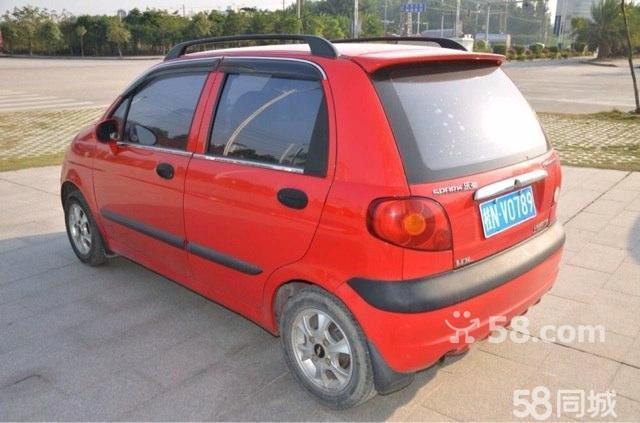 雪佛兰乐驰 2009款 1.0 手动标准型 红色高清图片