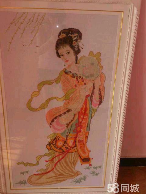 【图】十字绣绝代天娇美女图-广汉雒女性艺术美另类交的城镇图片