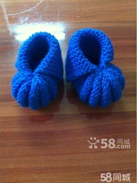 【图】纯手工宝宝鞋(毛线)