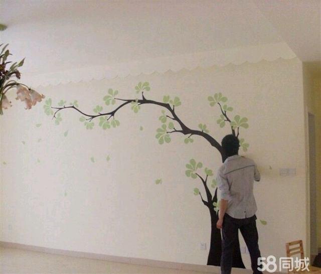【图】手绘墙画,艺术壁画