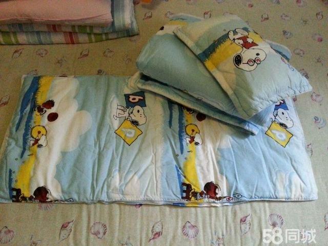 【图】幼儿园小朋友用的小被褥一套