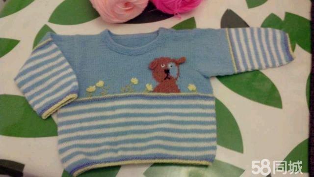 【图】手工编织儿童毛衣