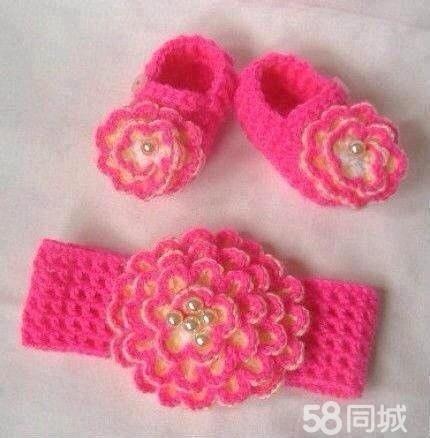 【图】纯手工编织儿童鞋