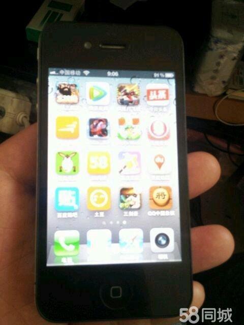 苹果4s原系统_【图】港行苹果416G原系统卧龙二手手机