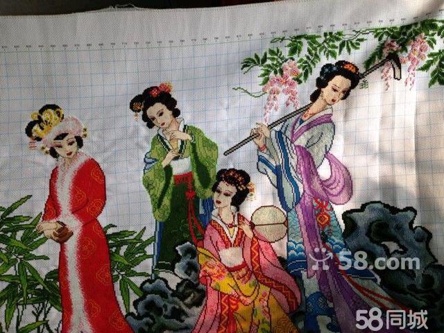 【图】梦红楼十二金钗十字绣   出售精美红楼梦金陵十二钗高清图片