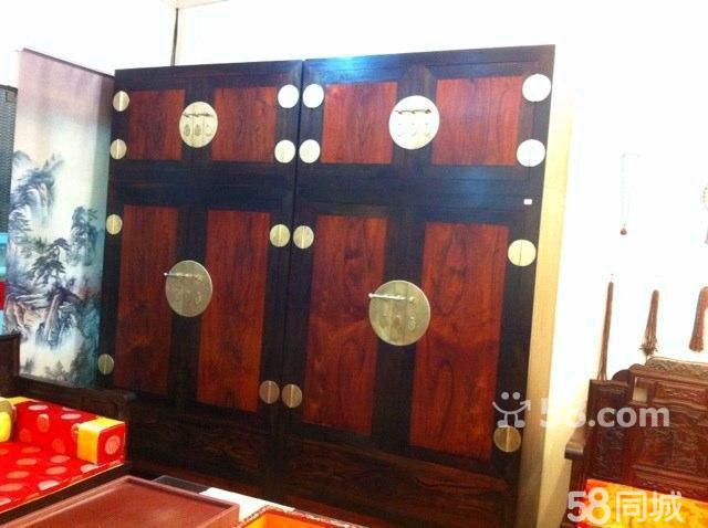 【图】转让红木家具顶箱柜 - 海淀四季青二手家具