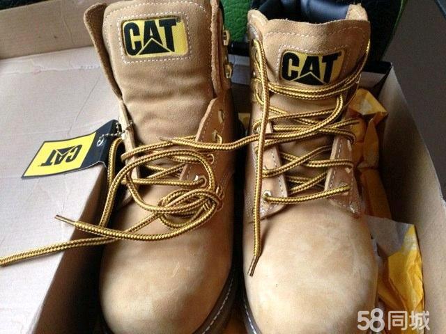 【图】美亚cat经典大黄靴全新