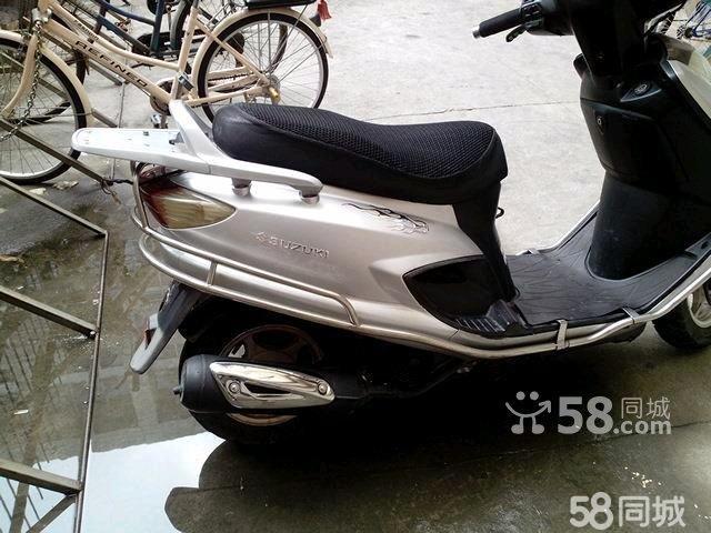 5成新豪爵铃木踏板车