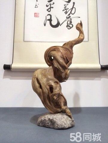 崖柏根雕 木雕 工艺品,收藏品,家居摆件