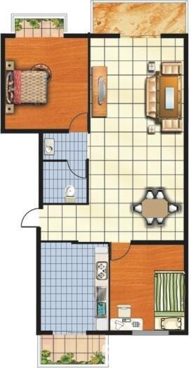 【图】玉田三中旁边即原老化肥厂 精装两居室