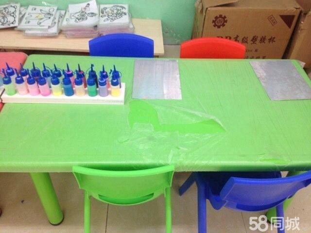 手工 桌子椅子 折纸图片