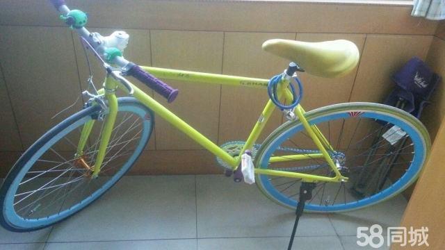 死飞炫酷自行车.