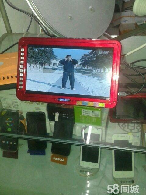 先科多功能看戏机支持电视机功能9寸