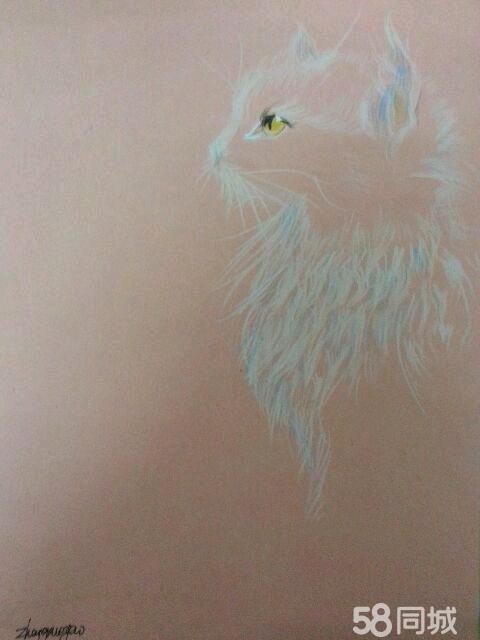 【图】纯手绘萌物彩铅画可定制