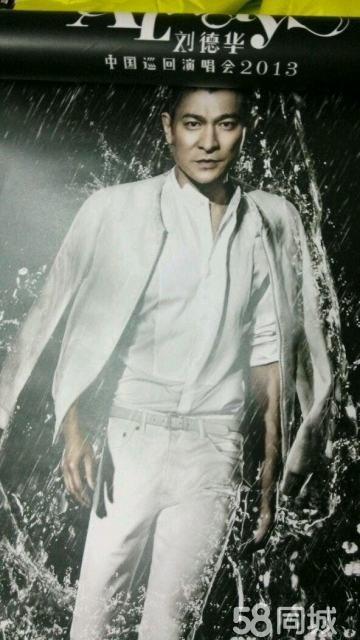 【图】刘德华2013上海演唱会限量版海报