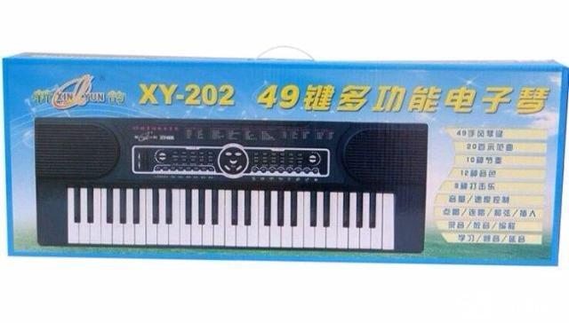 49键数码电子琴图片