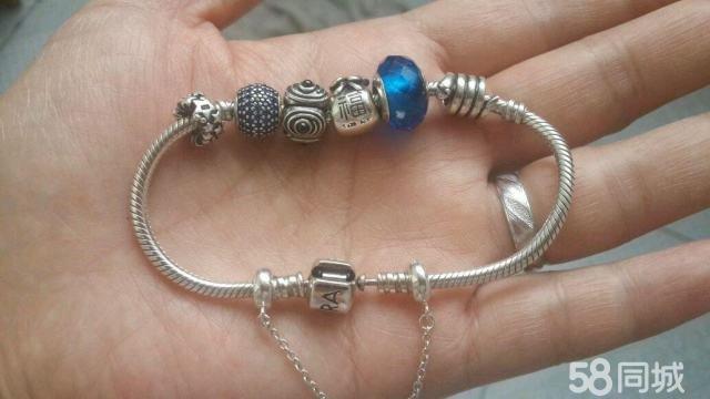 【图】925银手链,珠子可任意搭配!