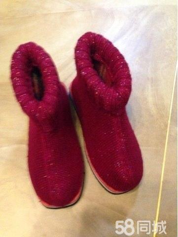 纯手工织棉鞋