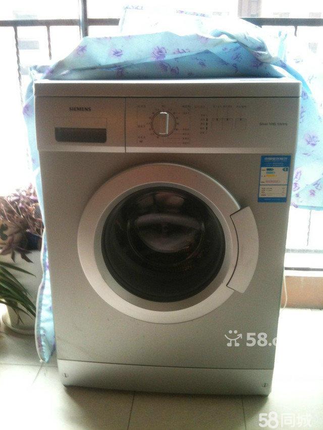 【图】银色西门子滚筒洗衣机 - 蜀山轴承厂二手家电