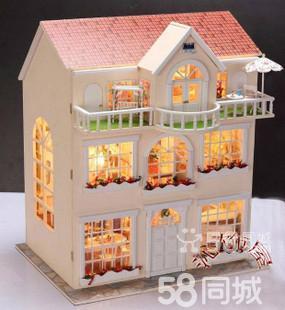 (转让)创意礼物diy手工迷你小家具房子娃娃屋大型 - 265元
