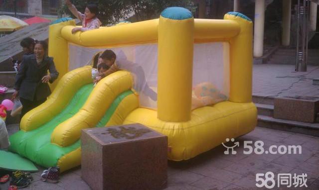【圖】重慶銅梁兒童游樂園室內淘氣堡大型章魚轉轉機