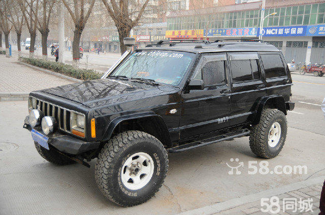 213改装mtx   切诺基213,四缸电喷,手动四驱   213改装车顶高清图片