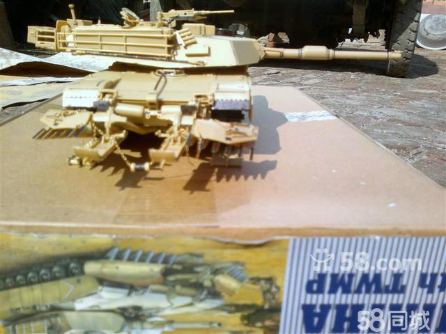 坦克拼装上色成品模型