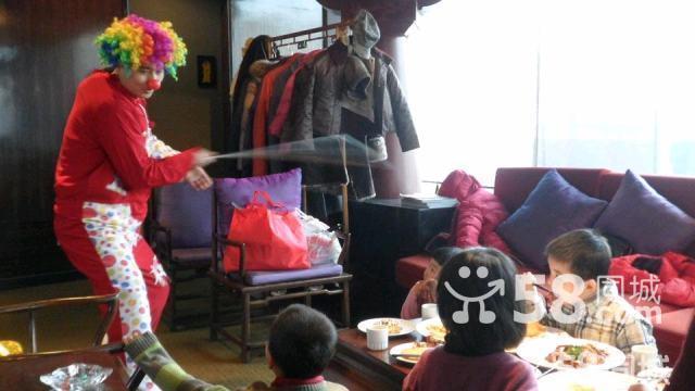 是上海首家基于儿童生日派对和公司与