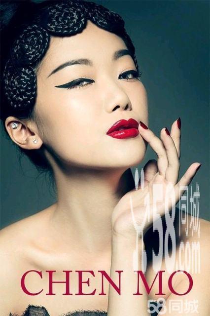 t台创意彩妆造型杂志拍摄创意彩妆造型舞台表演彩妆 (426x640)-彩图片