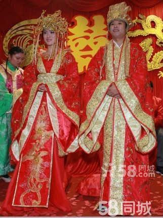 【图】中式婚礼古代结婚喜服秀禾服贵妃装唐装