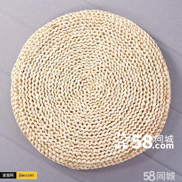 玉米皮坐垫编法图解_手工编织坐垫_手工编织坐垫高清图片