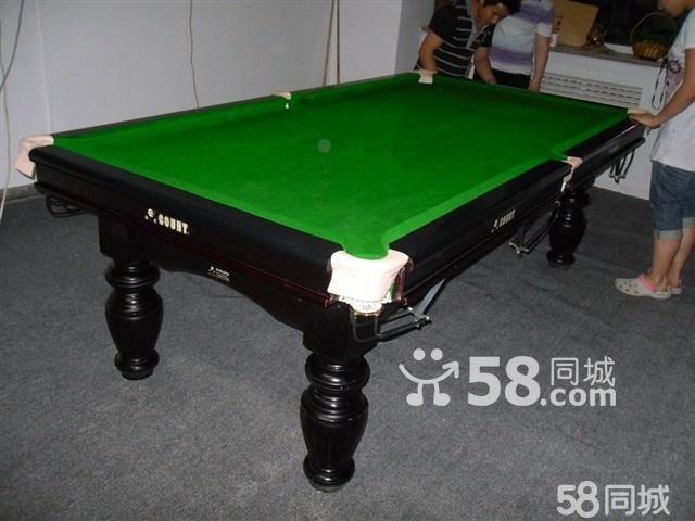 【图】英式斯诺克台球桌的标准尺寸/美式台球桌的