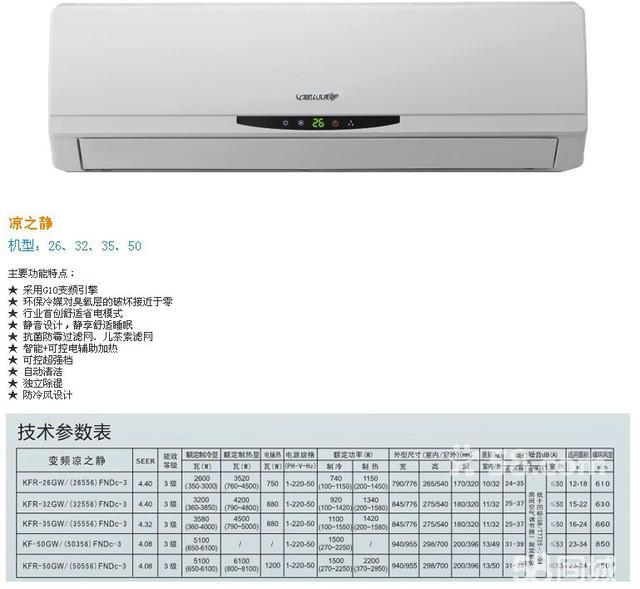 【全新格力空调】柜机,挂机2013年福系列,悦风等高中低档 - 3000元