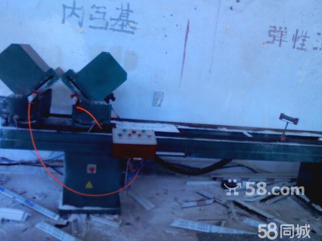 【图】塑钢窗四位焊接机 下料锯 V形口等一套