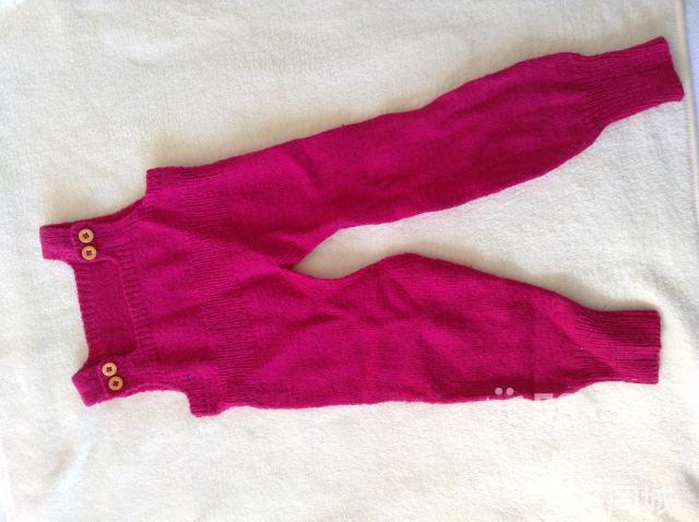 宝宝背带裤编织视频 女宝宝背带裤编织视频 漂亮宝宝背带裤编织图