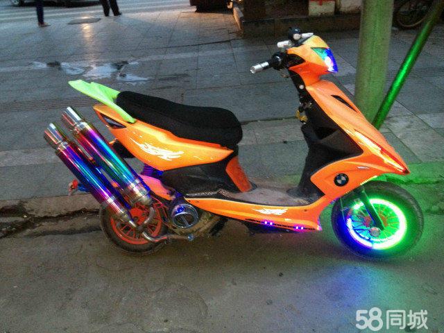 【图】出售--鬼火摩托车